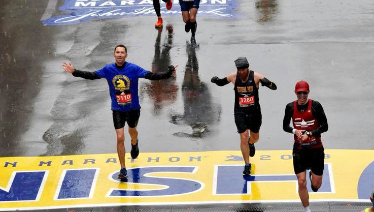Airman's drive leads to running Boston Marathon