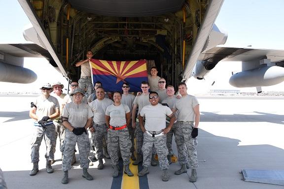 Arizona National Guard Airmen deploy for Hurricane Irma relief efforts