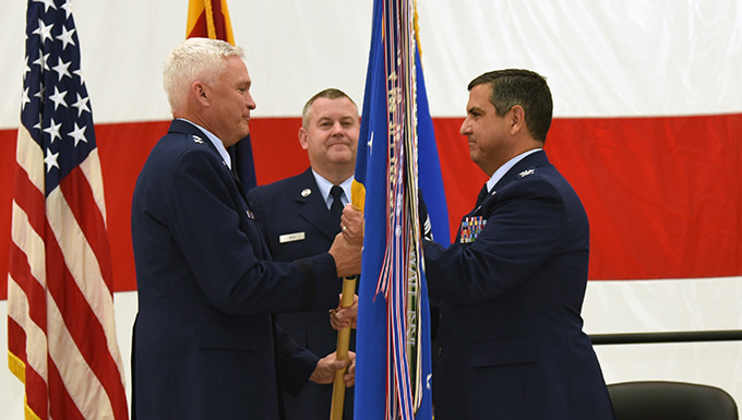 AZ Air Guard welcomes new tanker wing commander