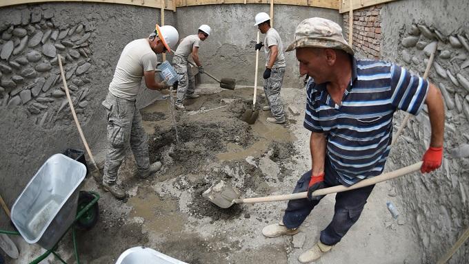 Arizona Airmen build, renovate Georgian orphanages