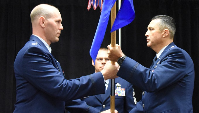 161st welcomes new maintenance group commander
